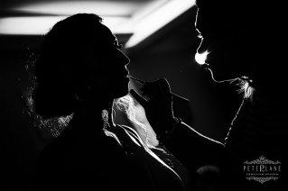 jewish wedding videographer London flowergirl makeup