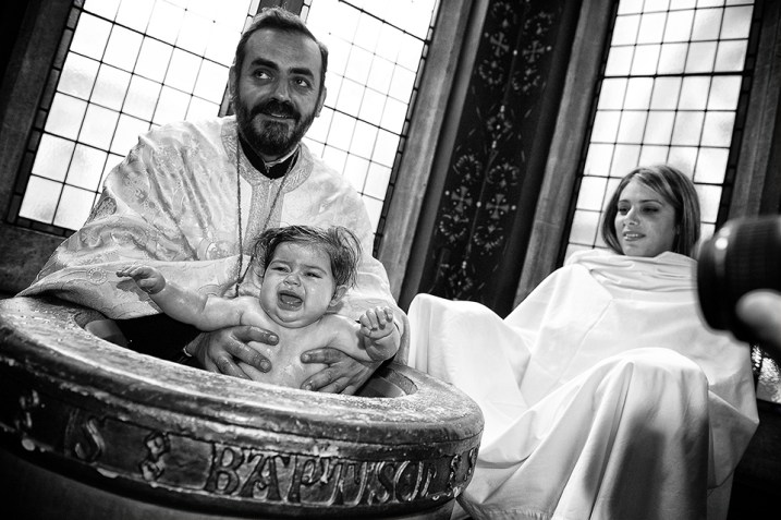 Professional baptism photographer