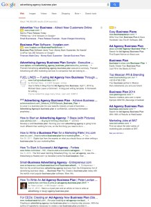advertising agency business plan   Google Search