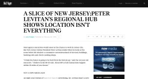 A SLICE OF NEW JERSEY PETER LEVITAN S REGIONAL HUB SHOWS LOCATION ISN T EVERYTHING   News   Advertising Age