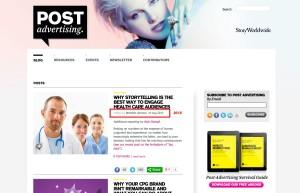 Post Advertising  Chronicles of Brand Storytelling
