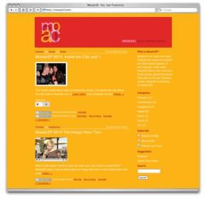 web site mosaicsf