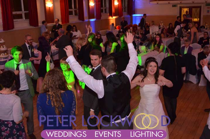 Wedding Dj And Lighting Provider In Chadderton Town Hall