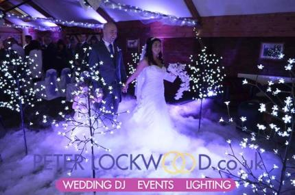 Recessional-walk-with-dry-ice-wedding fx