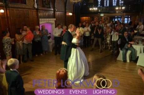 wedding first dance by Worsley Court House Wedding DJ