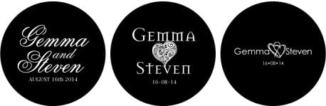 Gemma and Steven Wedding Monogram