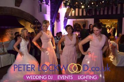 Samlesbury Hall bridesmaids