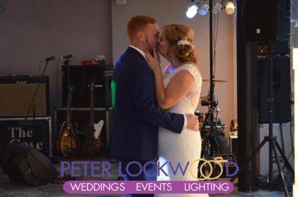 wedding first dance in castlefield rooms