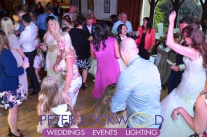 wedding dj in nutters restaurant rochdale