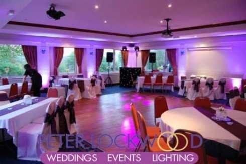 saddleworth-golf-wedding-disco-setup