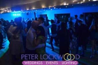 wedding disco lighting