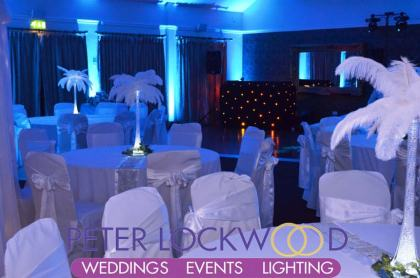 Holcombe suite at the Red Hall Hotel wedding dj