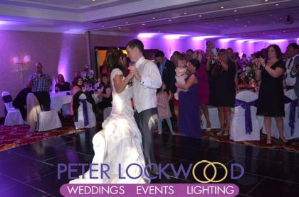 Worsley Park Marriott Wedding DJ.