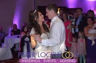 Worsley Park Marriott Hotel wedding dj