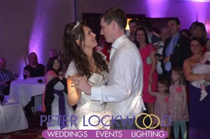 Worsley Park Marriott Hotel wedding dj