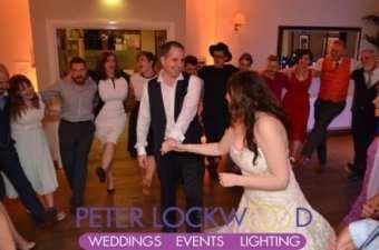 Losehill House Hotel wedding last dance