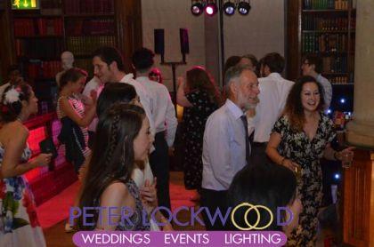 wedding dj at Christie's Bistro