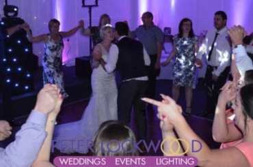 Manley Mere wedding circle for the last dance