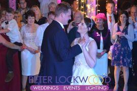 wedding first dance in manchester's victoria warehouse