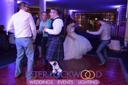 wedding in Dunham Forest Golf Club