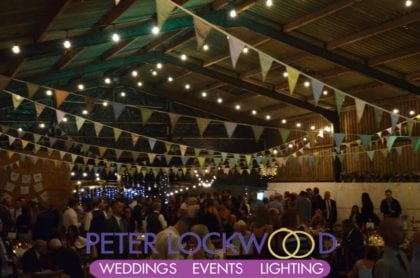Barn Weddings Lighting
