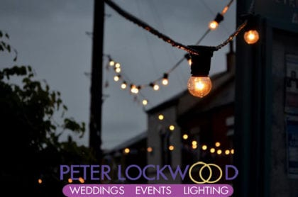 festoon lighting hire manchester