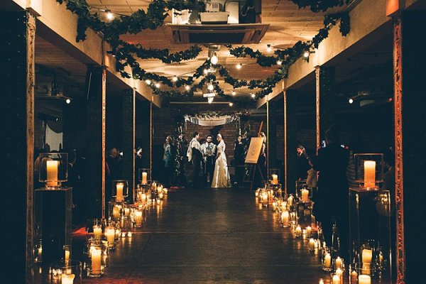 Jewish Wedding Lighting