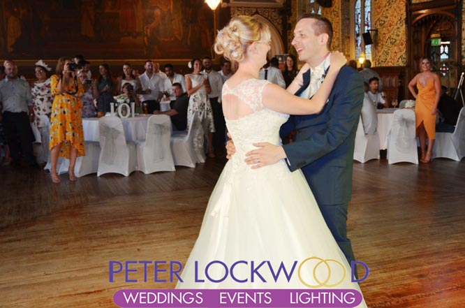Rochdale Town Hall Wedding Dj Peter Lockwood Events