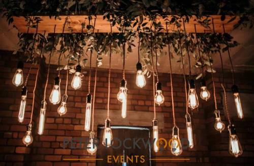 Edison Wedding Lighting