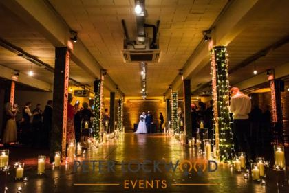 Wedding Candle Aisle
