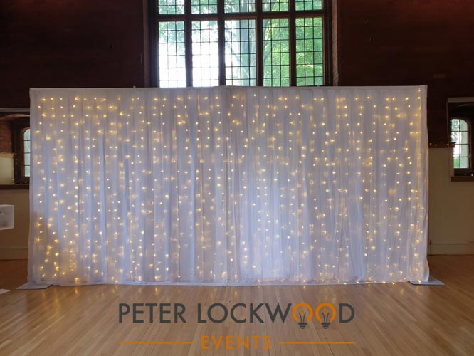 6 meter wide wedding backdrop