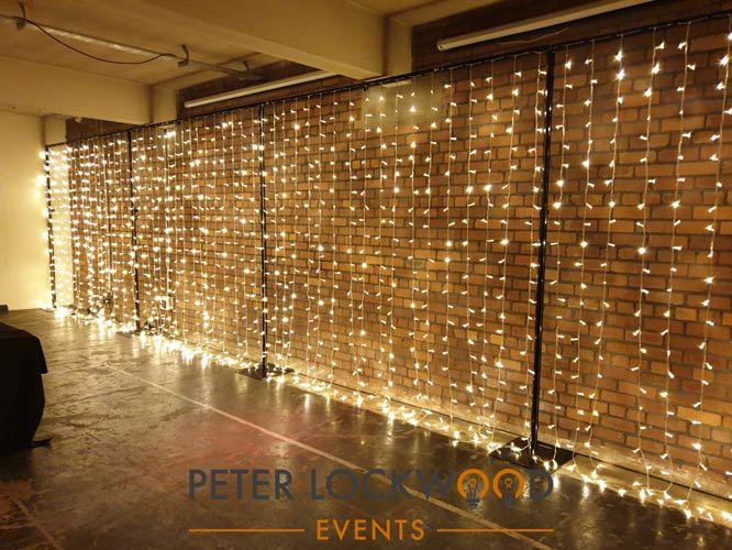 Pure Fairy Light Wall