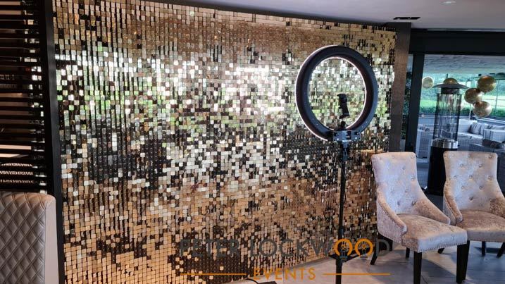 Shimmer Wall hire