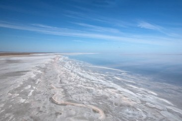 Salt and Water - Lake Eyre 2010