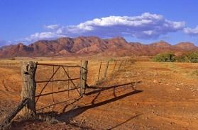 Gate at Moralana