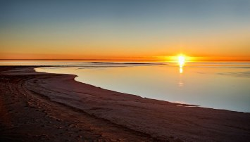 Sundown - Lake Eyre