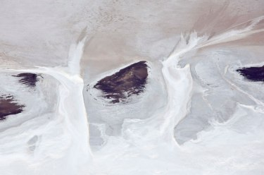 Salt II- Lake Eyre, The Long Shot