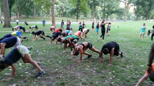 X-Academy Outdoor Fitness