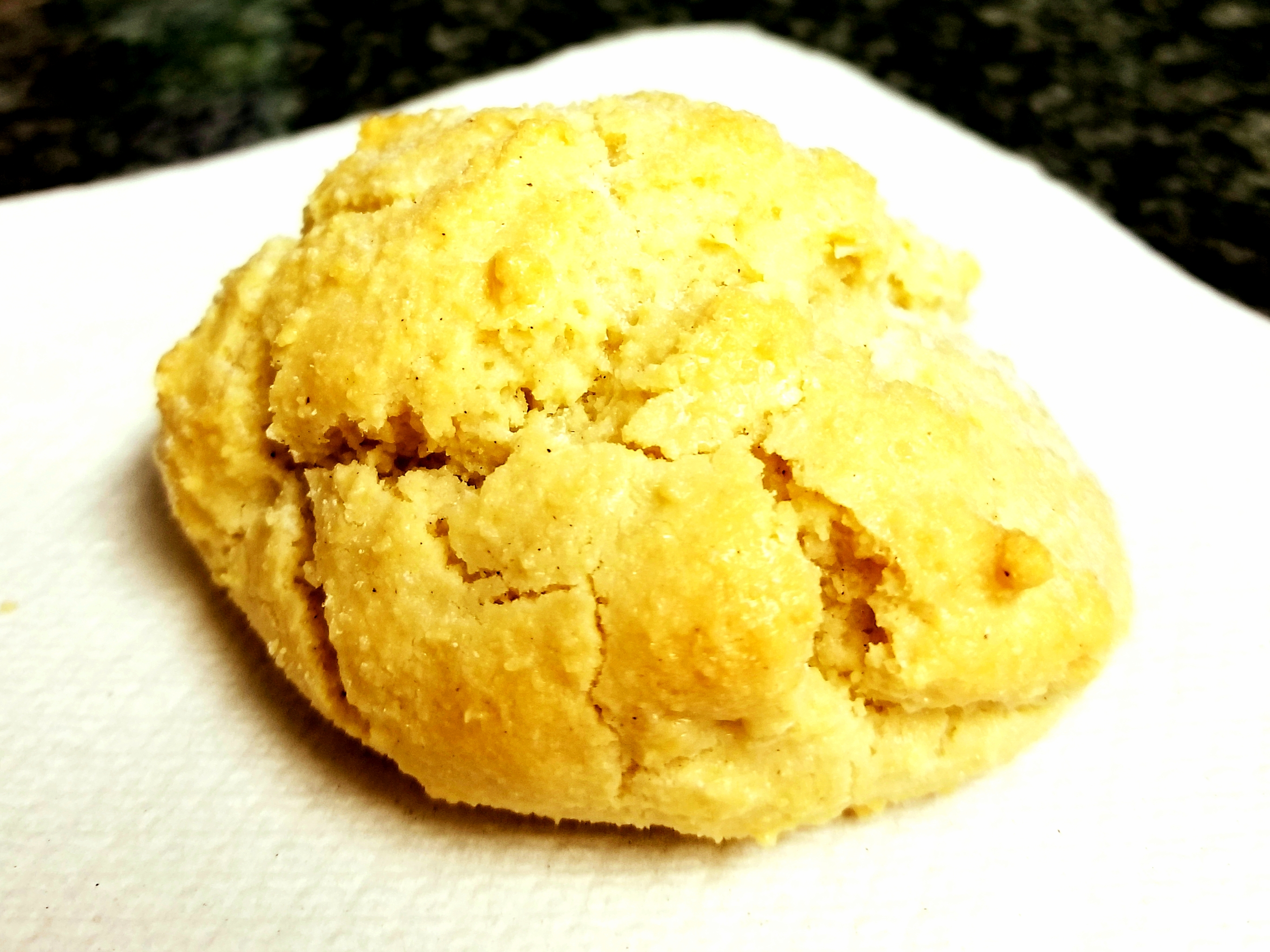 low fodmap cinnamon biscuit