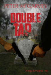 Double Tap Mystery Novel Book Cover