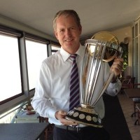 Tom Moody with Cup