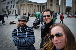band self portraits continue in Berlin