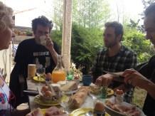 Breakfast in Sete