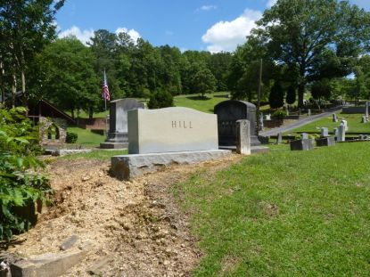 Howard Hill's Grave