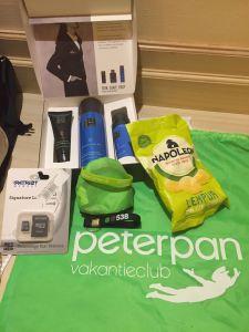 Goodie bags van onze sponsoren!