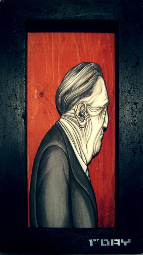 1st day - 2008 - Ink on Illustration board