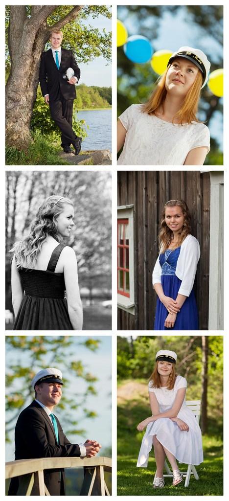 Studentbilder collage