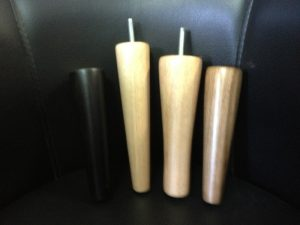 Cone legs for bedside table/ coffee table & sofas 170-200h