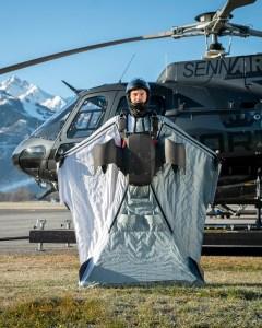 Wingsuitpilot Peter Salzmann, Picture Timeline Production