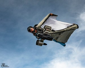 Wingsuitpilot Peter Salzmann, Picture Scott Paterson